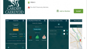 Cardiff Council launches the 'Cardiff Gov' App